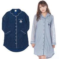 【レースシャツワンピース】P91520-782