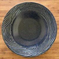 【大人の暮らしに似合う器】ふちしのぎ皿 20.5cm   南端ポタリー