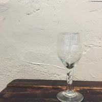琉球ガラス ツイストワイングラス