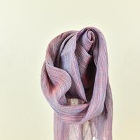 【花藍舎】ストール絣モダーン紫
