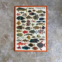 【紅型工房べにきち】琉球の魚ポスター