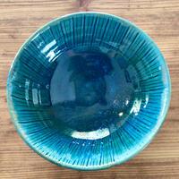 【沖縄の海を感じる器】7寸鉢 西表焼青烽窯