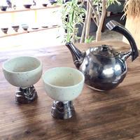 【陶factory509】なみなみ茶瓶セット