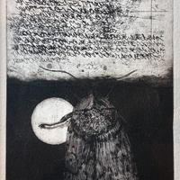 Moth memoriese(銅版画)