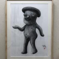田島享央己 TAKAOKI TAJIMA 雨を確かめる美術評論家 小難香椎之助の肖像