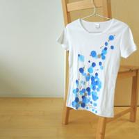 手描きTシャツ(Mサイズ・細身・フルペイント) 〔おとと〕