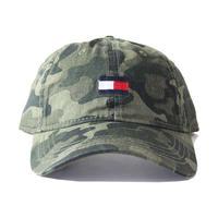 TOMMY HILFIGER / LOGO COTTON CAP  camo C8878B9013