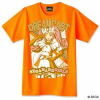 セガ・ハード・ガールズ x ドリームキャスト Tシャツ -オレンジ-