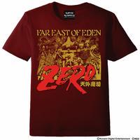 天外魔境ZERO  Tシャツ -バーガンディ-