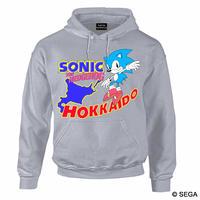限定10枚!SONIC THE HEDGEHOG x HOKKAIDO スタイルパーカー -GRAY-