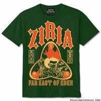 天外魔境ZIRIA Tシャツ  -ディープグリーン-