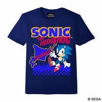 限定10枚!SONIC THE HEDGEHOG x HOKKAIDO Tシャツ -NAVY-