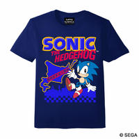SONIC THE HEDGEHOG x HOKKAIDO Tシャツ -NAVY-