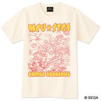 【予約】MCU x SEGA Sound Collection 記念Tシャツ -アイボリー-