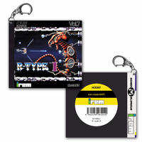 R-TYPE 1  PC-engine版 アクリルキーホルダー