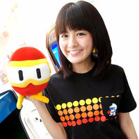ディグダグ (DIGDUG) 〜1 POCKET TEE〜 (BLACK)