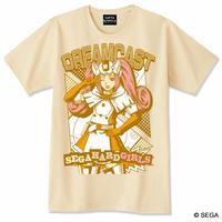 セガ・ハード・ガールズ x ドリームキャスト Tシャツ -ナチュラル-