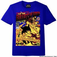 天外魔境卍MARU Comic`s Cover Tシャツ -ジャパンブルー-