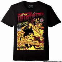天外魔境卍MARU Comic`s Cover Tシャツ -ブラック-
