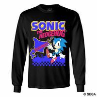 限定10枚!SONIC THE HEDGEHOG x HOKKAIDO ロングTシャツ -BLACK-