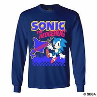 限定10枚!SONIC THE HEDGEHOG x HOKKAIDO ロングTシャツ -NAVY-