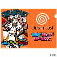 【SEGA HARD GIRLS x DREAMCAST 】Japanese Style Slim file folder (A4 size)