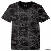 【SEGA HARD GIRLS x DREAMCAST】Comics Tee -BLACK-