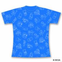 SEGA Arcade Gamer Tee -SEGA BLUE-