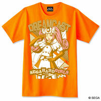 【SEGA HARD GIRLS x DREAMCAST】 Tee  -Orange-