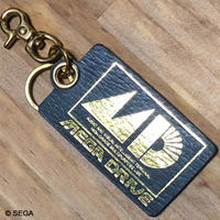 【MEGA DRIVE】 Leather Keyring