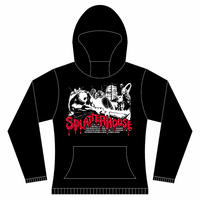 【 SPLATTER HOUSE 】Arcade  Hooded Sweatshirt