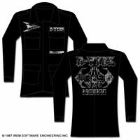 R-TYPE R-9 MILITARY COAT JACKET - BLACK-