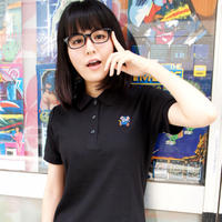 MAPPY Polo DressShirt  (BLACK)