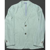 BARNEYS NEWYORK コットンジャケット グリーン 50サイズ イタリア製 本切羽仕様