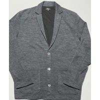 Harriss PARIS ニットジャケット グレー 42サイズ 日本製