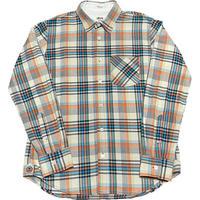 STUSSY DELUXE HAND TAILORED 長袖チェックシャツ マルチカラー Mサイズ