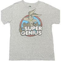 Looney Tunes Wile E. Coyote プリントTシャツ グレー Lサイズ