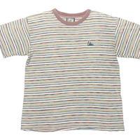 MADE IN USA製 Lahaina 半袖ボーダーTシャツ マルチカラー Mサイズ