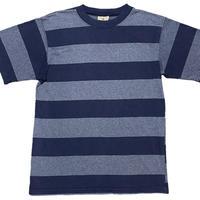 MADE IN USA製 Goodwear クルーネック半袖ボーダーTシャツ ネイビー Mサイズ