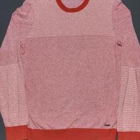 HUGO BOSS Italian yarnコットンクルーネックセーター オレンジ Mサイズ