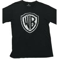 WARNER BROS. STUDIO TOUR ロゴプリントTシャツ ブラック Lサイズ