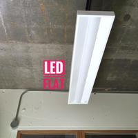 【W-LF】配線ダクト用  LED2灯相当  LEDライト ホワイト