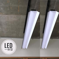 2台セット【BW-LS】 ダクトレール用 一体型LEDライト 笠付き  つや消しブラック