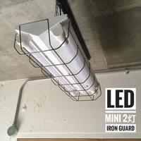 【W-2L20GK】2灯 LED蛍光灯 ホワイト ダクトレール用 照明器具