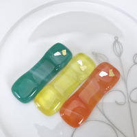 ガラスの箸置き3個セットS-022