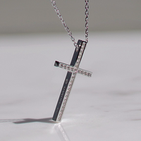 TWO ME CROSS NECKLACE