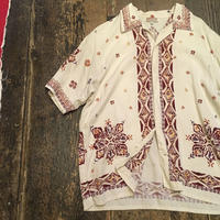 [USED] 渋〜い アジアンテイスト てろてろシャツ
