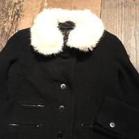 [USED] アニエスb ファー襟付き WOOLジャケット