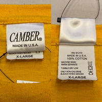 """[USED] """"CAMBER"""" YELLOW  S/S Tee💛"""