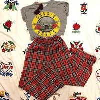 [USED] 70's POLY PANTS♡ギンガムチェック